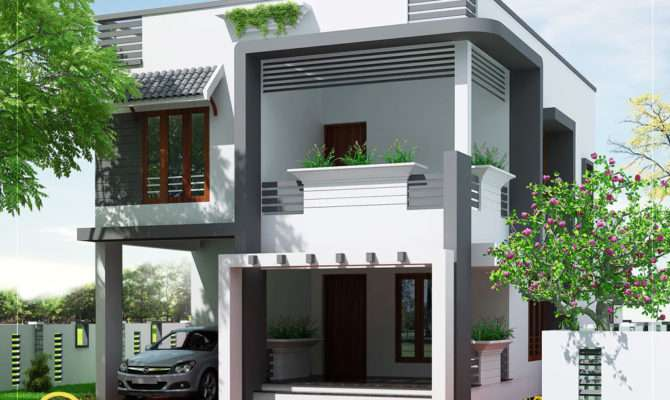 Budget Home Design Plan Kerala Floor