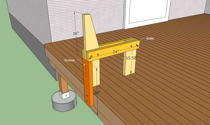 Build Bench Decking