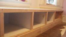 Build Bench Seat Storage Photos