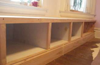 Build Bench Seat Storage Photos