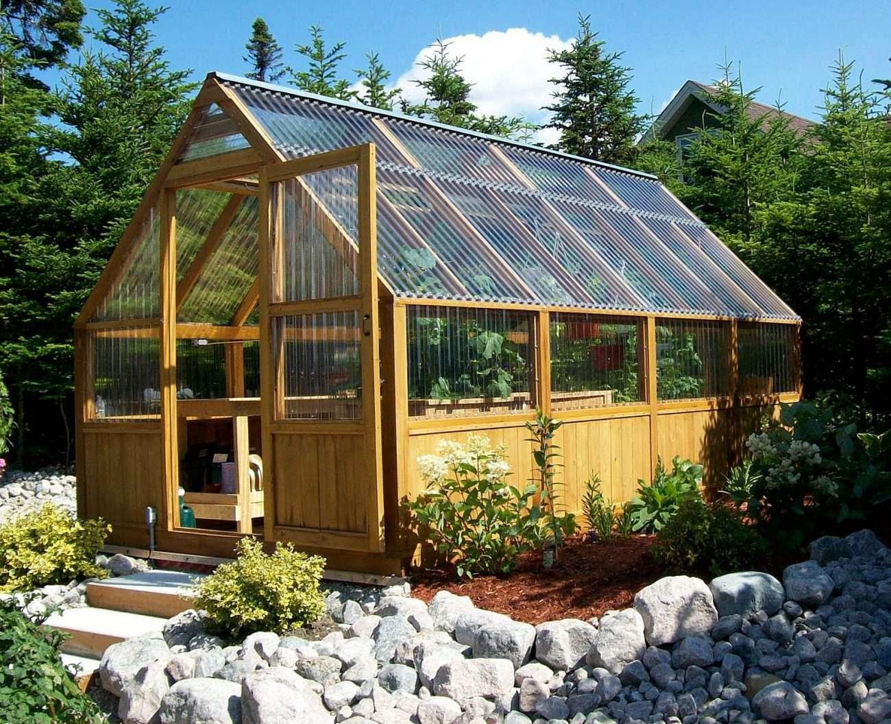 Build Diy Greenhouse Theydesign