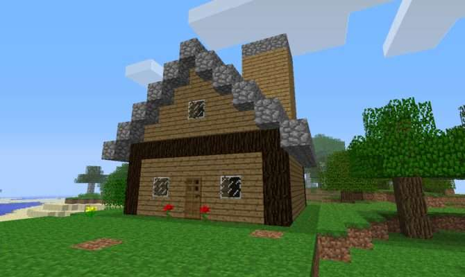 Build Easy Nice Comfty House Survival Mode