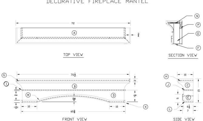 Build Fireplace Mantel Woodworking Plans Pdf