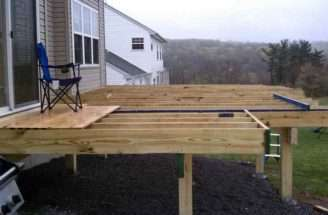 Build Freestanding Deck