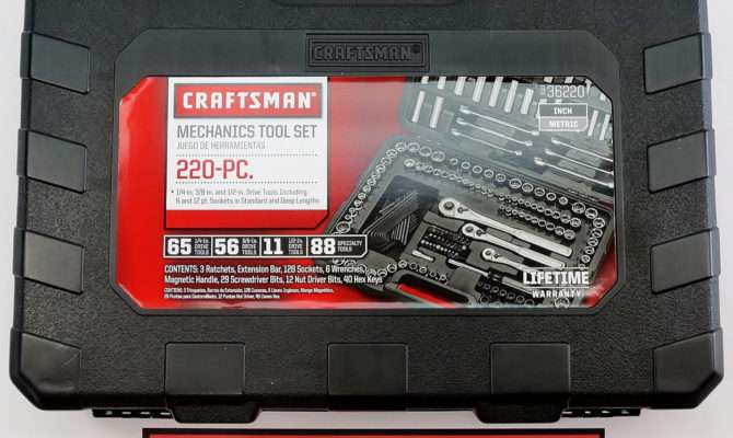 Build Garage Your Dreams Craftsman Mechanics Tool Set