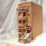 Build Gingerbread Brownstone Kitchen Table Scraps
