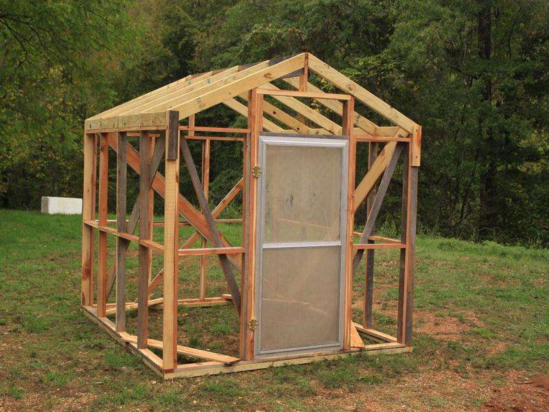 Build Greenhouse Plans