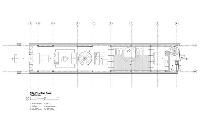 Build Incredible Minimalist House Narrow Plot