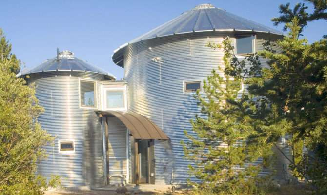 Build Inexpensive Home Using Grain Silos Idesignarch