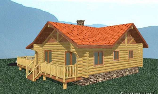 Build Log Cabin Remarkable Home Design