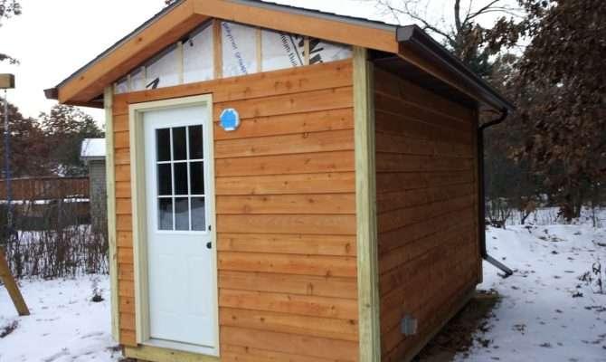 Build Outdoor Sauna