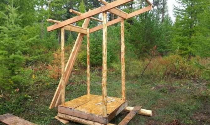 Build Outhouse Living Off Grid Style