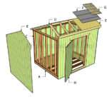 Build Saltbox Shed Roof Howtospecialist