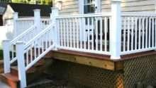 Build Simple Deck Outdoor Spaces Patio Ideas Decks