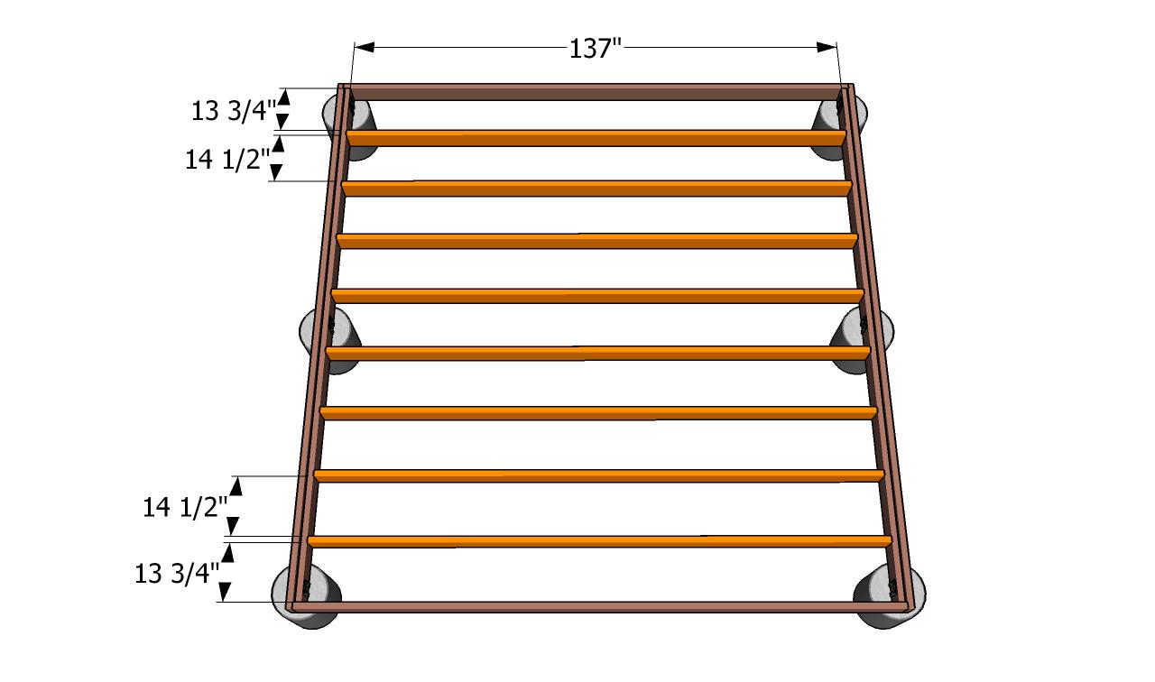 Build Wood Deck Ground Pdf Runner Duck