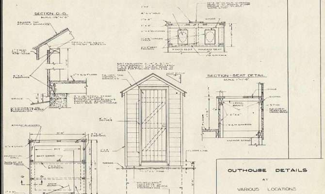 Build Wooden Outhouse Plans Pdf