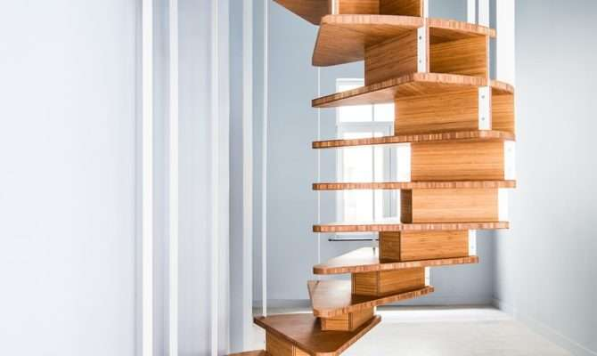 Build Wooden Spiral Staircase