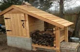 Build Your Own Cedar Smokehouse