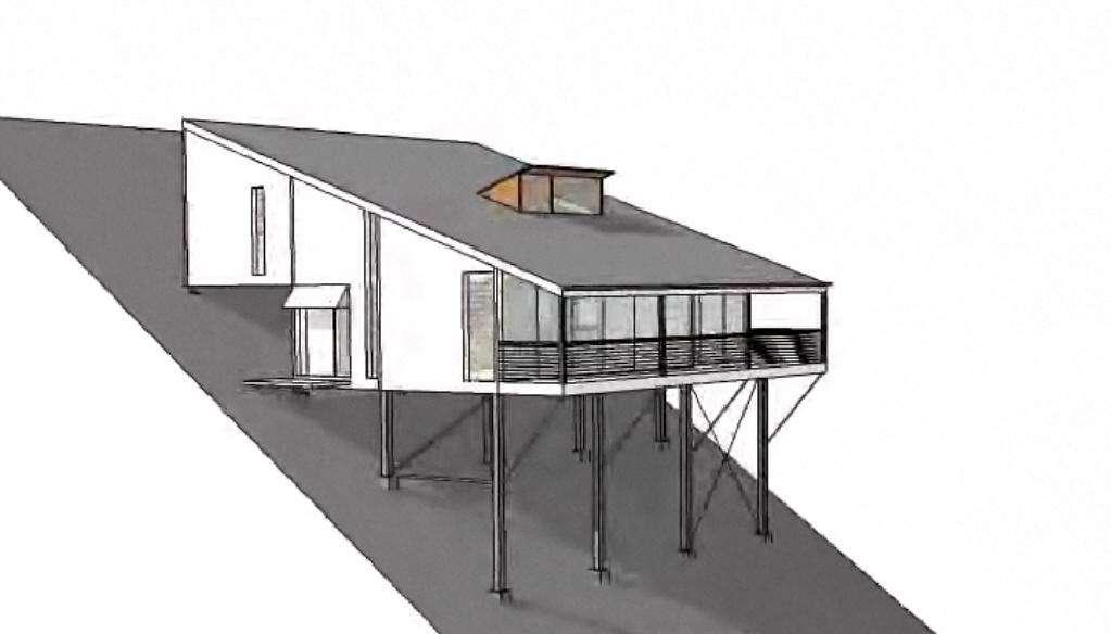Builders Display Homes Lowline Home Split Level Hillside