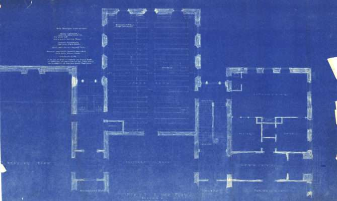 Building Blueprints Posted Poster Name