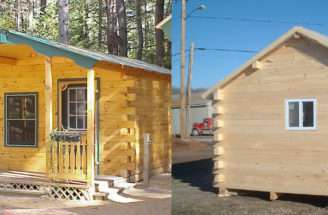 Building Design Build Your Own Log Cabin