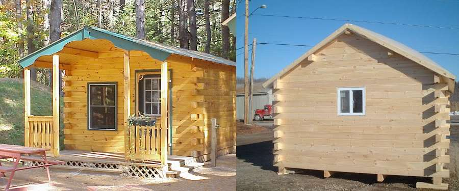 Building Design Build Your Own Log Cabin
