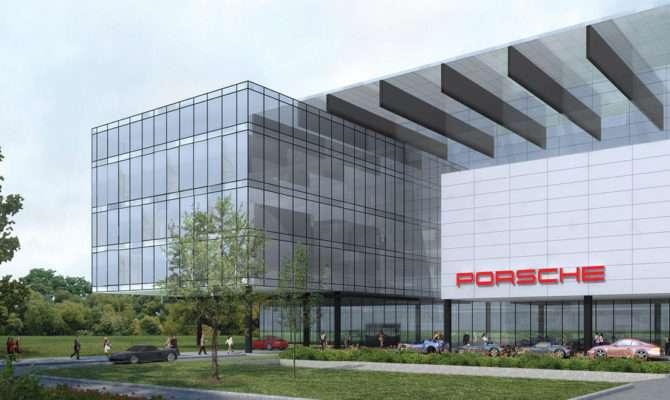 Building Designs Porsche Headquarters Atlanta
