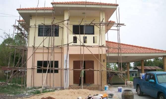 Building House Thailand Start Finish Youtube