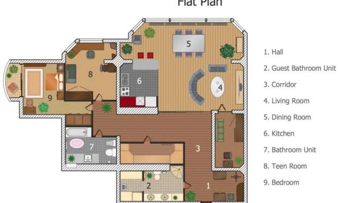 Building Plan Software Create Great Looking