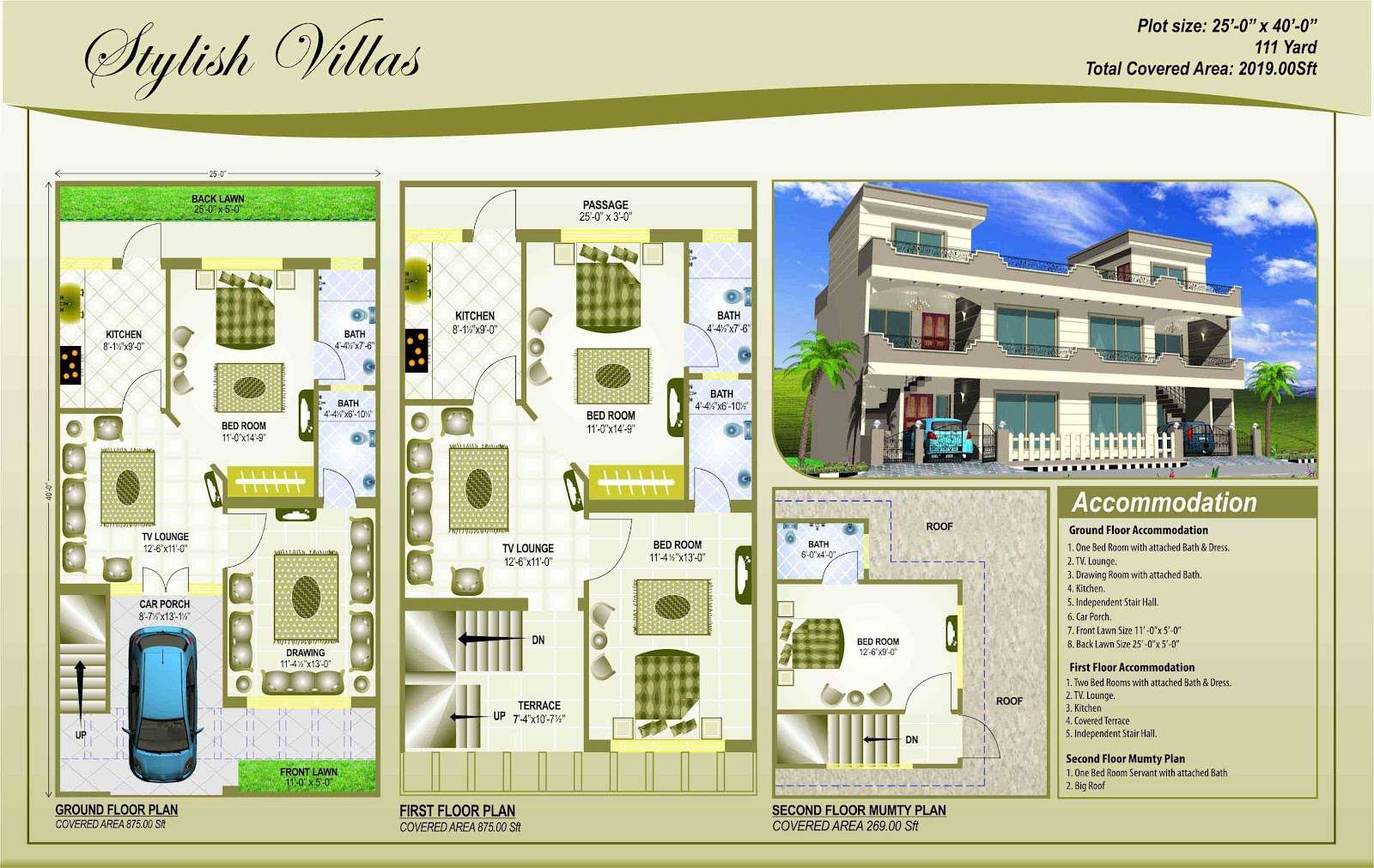 Building Plans Pakistani House