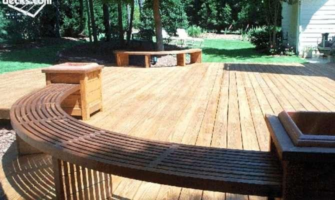 Building Round Curved Deck Decks