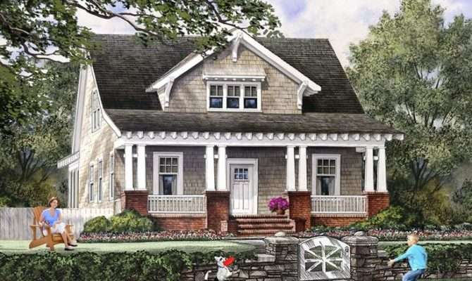 Bungalow Cottage Craftsman Farmhouse House Plan
