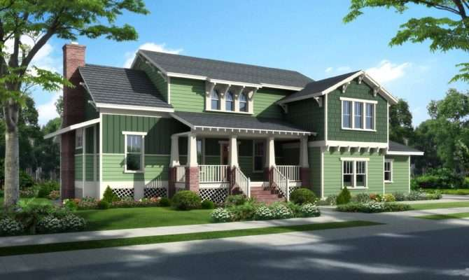 Bungalow Cottage Craftsman Traditional House Plan