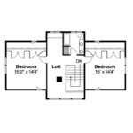 Bungalow House Plan Dorset Floor