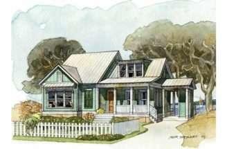 Bungalow House Plan Harborside Cottage Southern Living