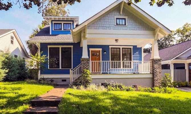 Bungalow House Plan Porches Front Back