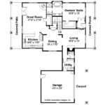 Bungalow House Plan Wisteria Floor
