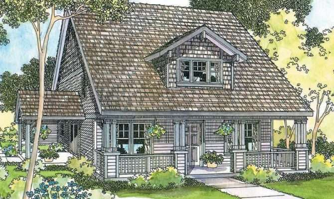 Bungalow House Plans Attached Garage