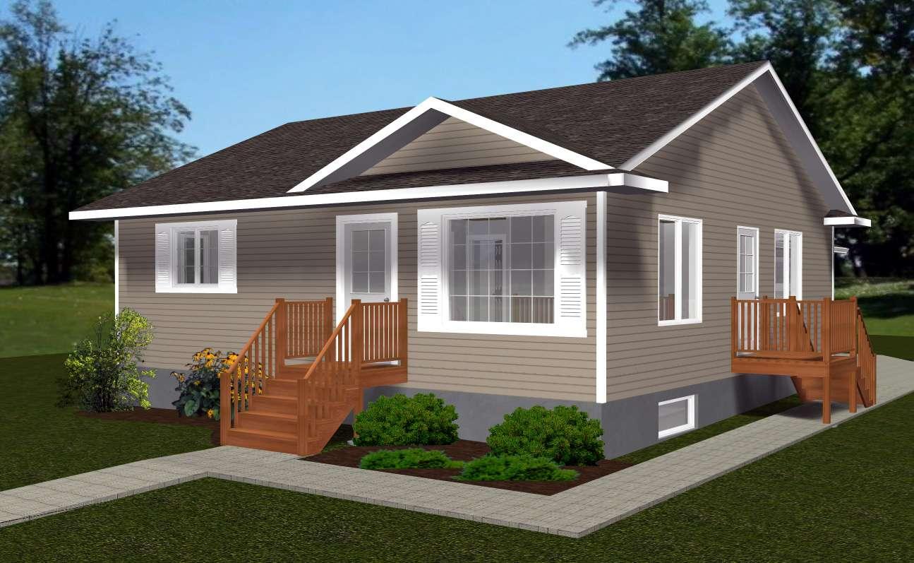 Bungalow House Plans Designs Single Story Home Ideas