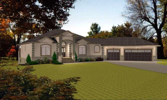 Bungalow House Plans Garage Home