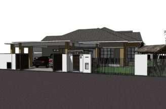 Bungalow House Plans Single Storey Skalastudio Residential