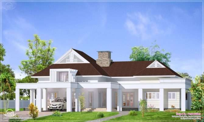 Bungalow House Single Story Homes