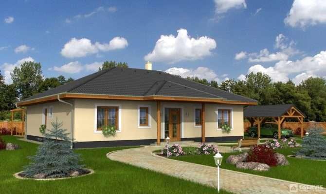 Bungalow Houseplan Gservis