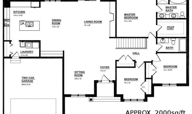 Bungalow Open Floor Plans Ideas House