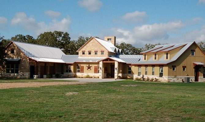 Burton Hill Country Style Rustic Exterior Houston