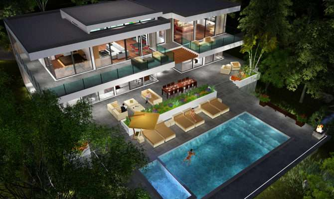 Buy Our Level Modern Glass Home Floor Plan Next