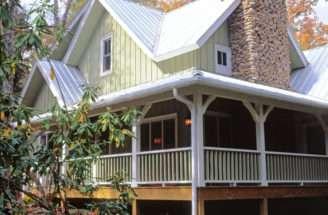 Cabin Cottage House Plan Front Plans