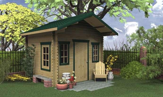 Cabin Cottage Kit Muskokan