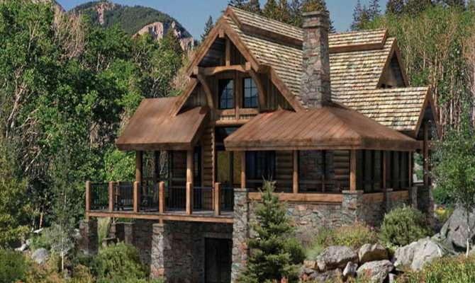 Cabin Floor Plans Craftsman Home Crazy