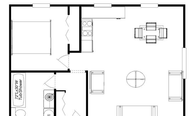 Cabin Floor Plans Houses Designs